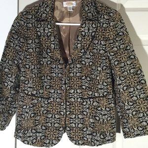 Talbots Embroidered jacket